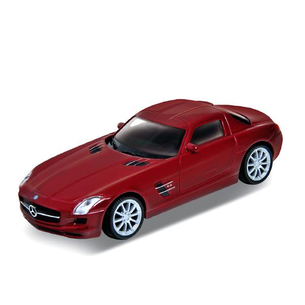 Купить Welly 43627 Велли Модель машины 1:34-39 Mercedes-Benz SLS AMG, Машинка инерционная Welly
