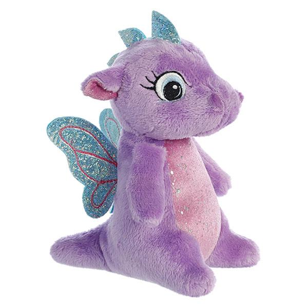 Купить Aurora 170776H Аврора Дракончик фиолетовый, 16 см, Мягкие игрушки Aurora