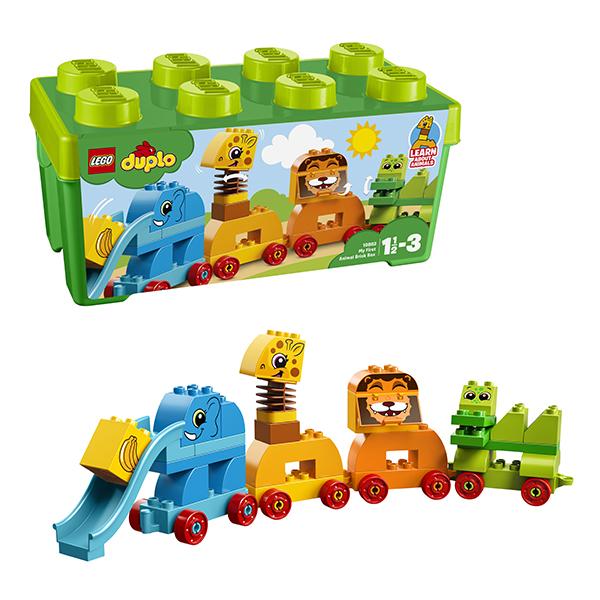 Купить LEGO DUPLO 10863 Конструктор ЛЕГО ДУПЛО Мой первый парад животных, Конструкторы LEGO