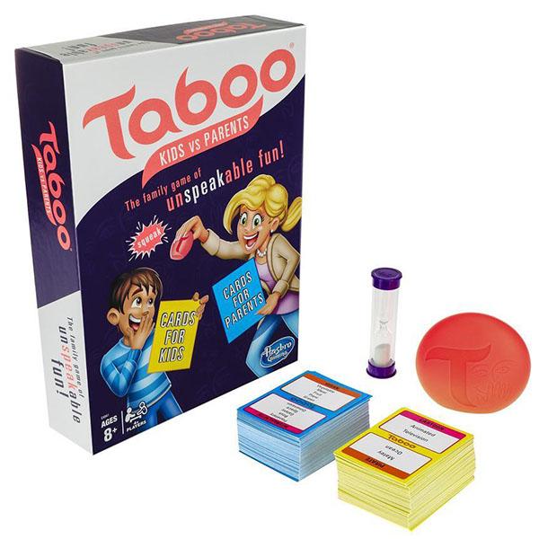 Купить Hasbro Other Games E4941 Настольная игра ТАБУ Дети против родителей, Настольные игры Hasbro Other Games