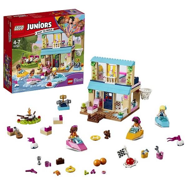 Lego Juniors 10763 Конструктор Лего Джуниорс Домик Стефани у Озера, арт:154195 - Джуниорс, Конструкторы LEGO