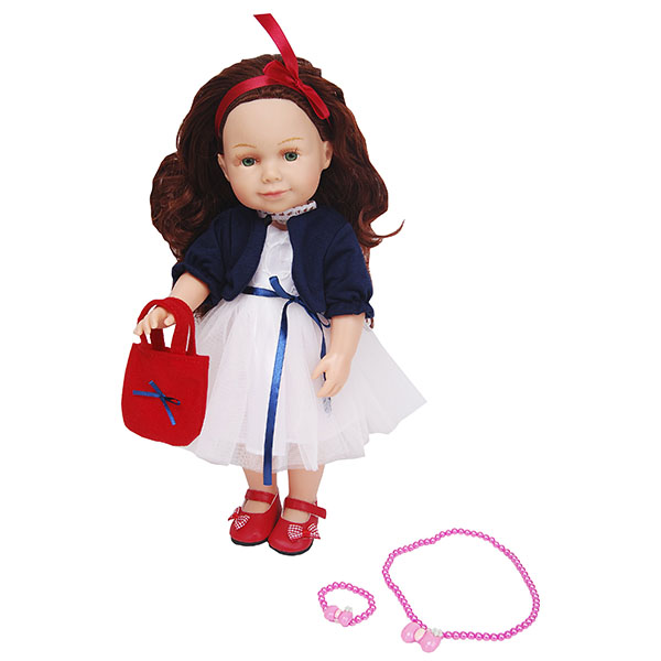 Купить Lilipups LVY012 Кукла с аксессуарами 40 см (озвученная - 20 фраз), Куклы и пупсы Lilipups