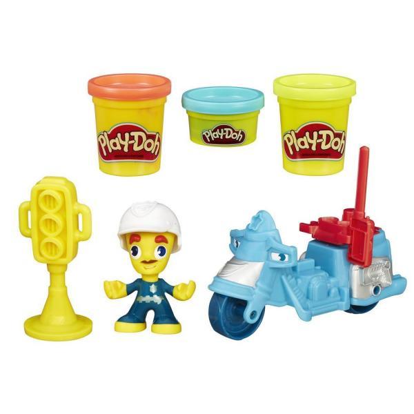 Купить Hasbro Play-Doh B5959 Игровой набор Транспортные средства (в ассортименте), Пластилин Hasbro Play-Doh