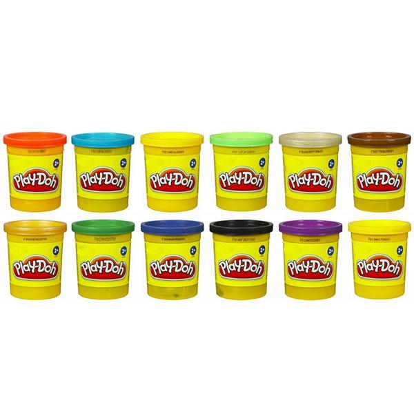 Hasbro Play-Doh B6754 Пластилин 1 Баночка (в ассортименте), Пластилин Hasbro Play-Doh  - купить со скидкой