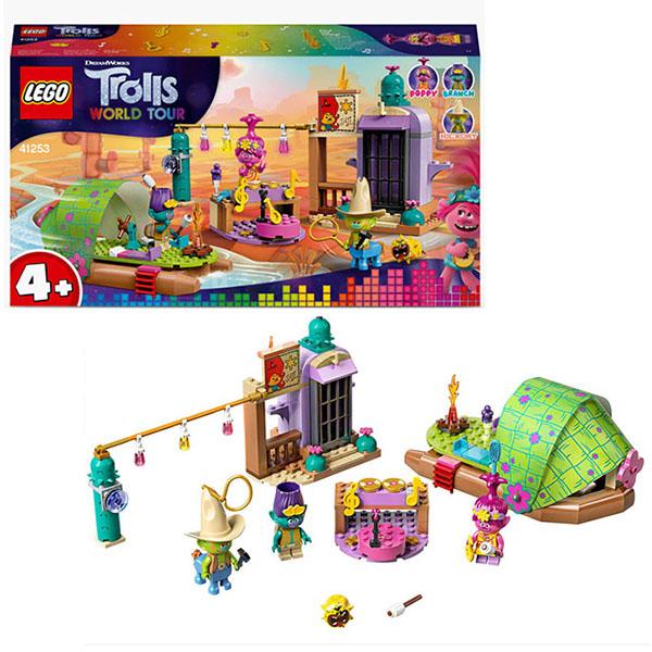 Купить LEGO Trolls 41253 Конструктор ЛЕГО Тролли Приключение на плоту в Кантри-тауне, Конструкторы LEGO