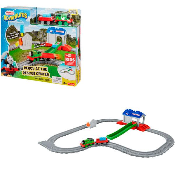 Купить Mattel Thomas & Friends FBC57 Томас и друзья Игровой набор Перси в спасательном центре , Игровые наборы Mattel Thomas & Friends