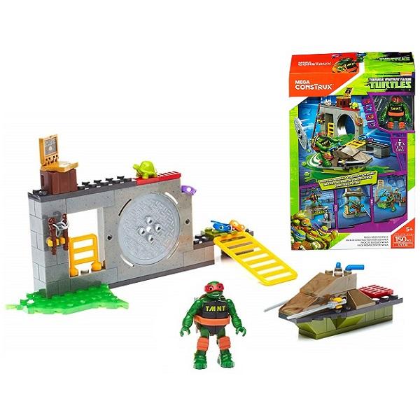 Купить Mattel Mega Bloks DYT38 Мега Блокс Черепашки Ниндзя: большой набор деталей, Конструкторы Mattel Mega Bloks