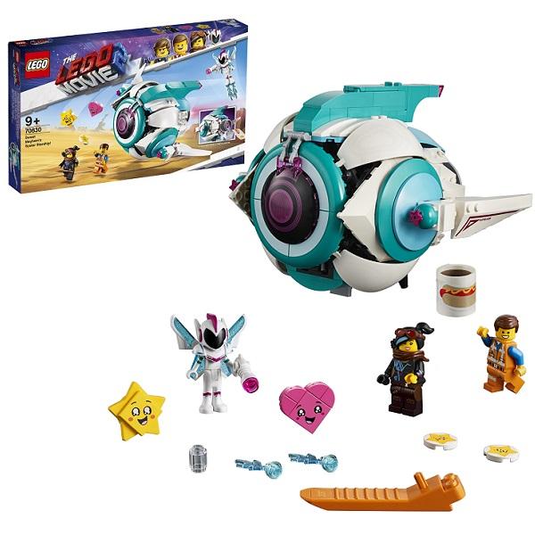 Купить LEGO Movie 2 70830 Конструктор ЛЕГО Фильм 2 Подруженский Звездолёт Мими Катавасии, Конструкторы LEGO