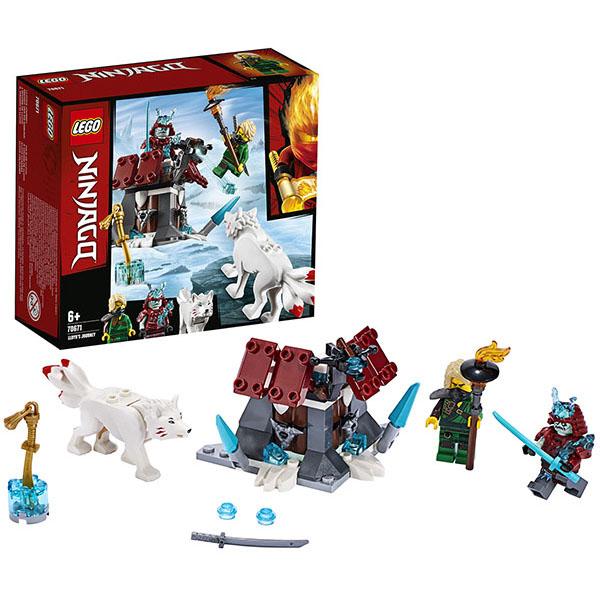 Купить LEGO Ninjago 70671 Конструктор ЛЕГО Ниндзяго Путешествие Ллойда, Конструкторы LEGO