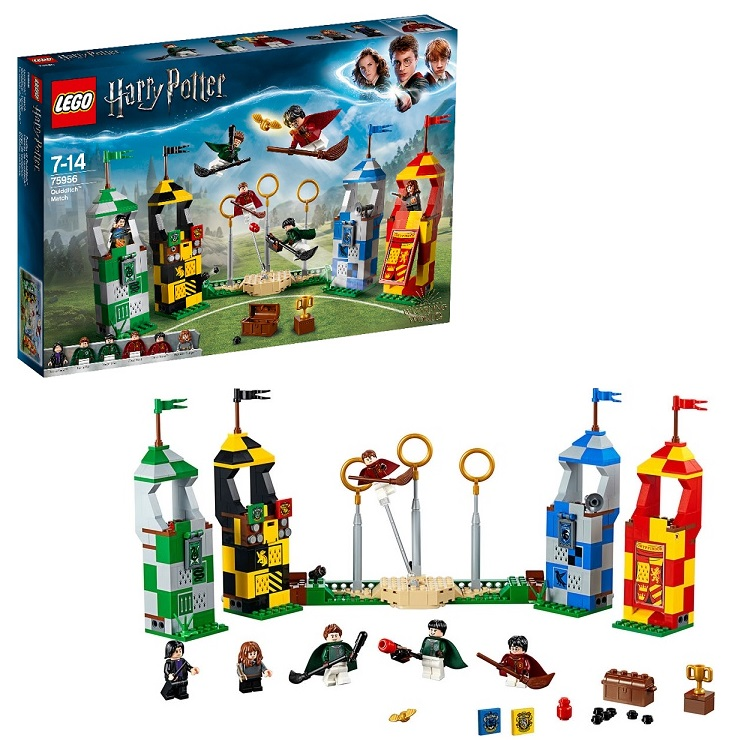 Lego Harry Potter 75956 Конструктор Лего Гарри Поттер Матч по Квиддичу - Конструкторы LEGO