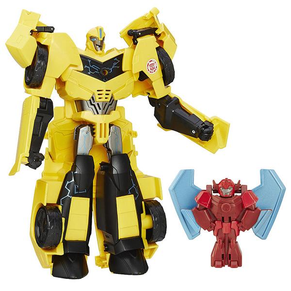Фигурка трансформер Hasbro Transformers Transformers B7067 Трансформеры роботы под прикрытием: Заряженные Герои, в ассортименте