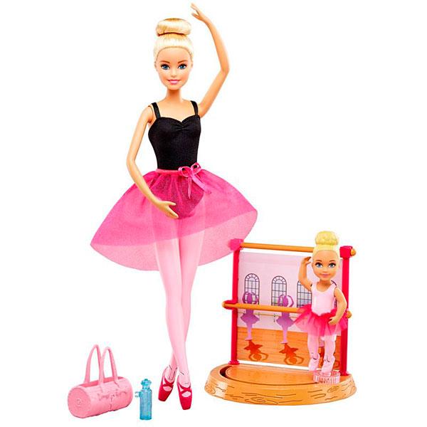 Купить Mattel Barbie DXC93 Барби Балерина , Кукла Mattel Barbie