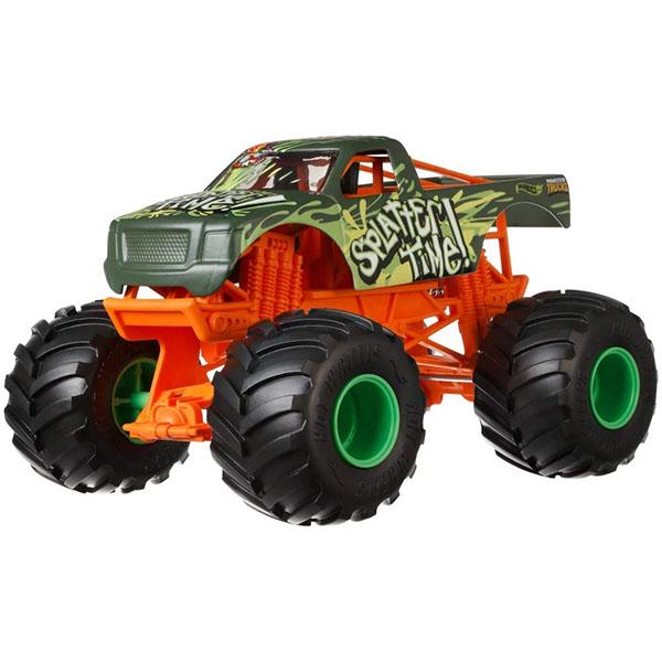 Купить Mattel Hot Wheels GCX22 Хот Вилс Монстр трак 1:24 SPLATTER TIME, Игрушечные машинки и техника Mattel Hot Wheels