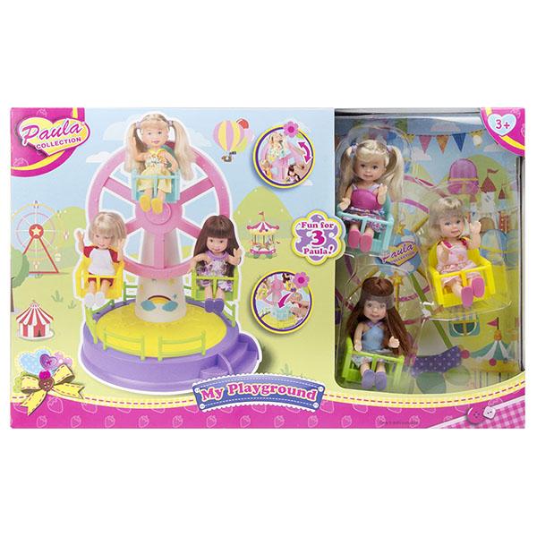 Купить Paula MC23015 Игровой набор Колесо обозрения , Игровые наборы и фигурки для детей Paula