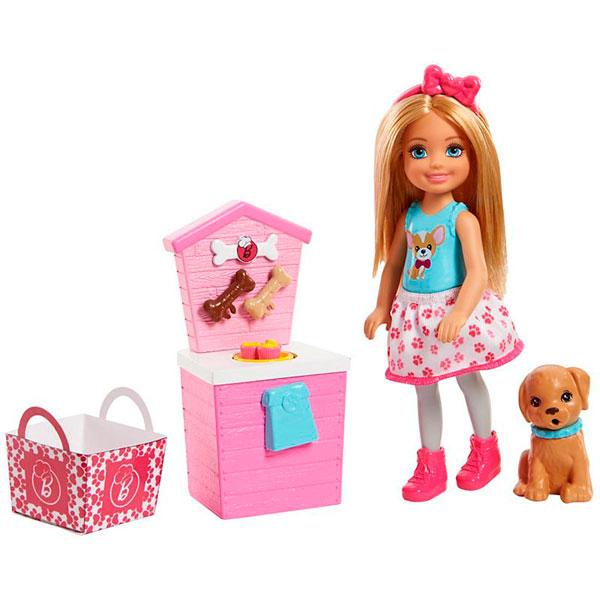 Купить Mattel Barbie FHP67 Барби Челси и щенок, Кукла Mattel Barbie