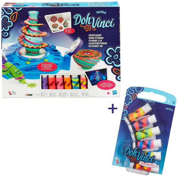"""Набор для творчества Hasbro Dohvinci Dohvinci B1718X Игровой набор для творчества """"Студия дизайна с подсветкой"""" + подарок B1718X"""