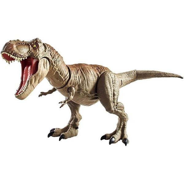 Купить Mattel Jurassic World GCT91 Ти-Рекс Двойной удар , Игровые наборы и фигурки для детей Mattel Jurassic World