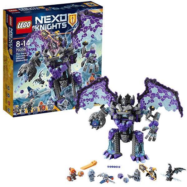 Lego Nexo Knights 70356 Конструктор Лего Нексо Каменный великан-разрушитель, арт:148587 - LEGO, Конструкторы для мальчиков и девочек