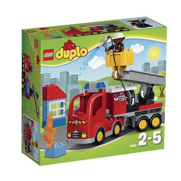 Lego Duplo 10592 Конструктор Лего Дупло Пожарный грузовик, арт:104082 - Дупло, Конструкторы LEGO