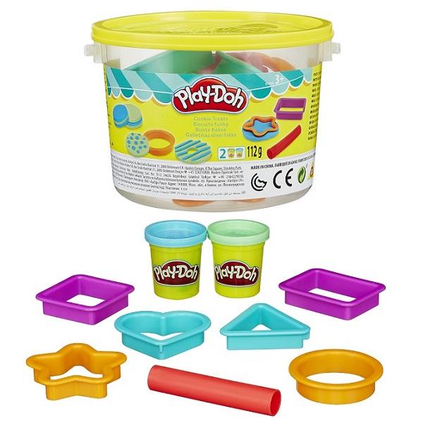 Hasbro Play-Doh B4453 Игровой набор Печенье в ведерочке