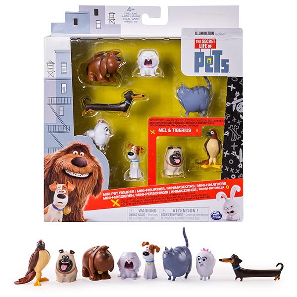 Купить Secret Life of Pets 72807 Тайная жизнь домашних животных Набор из 8 мини-фигурок, Игровой набор Secret Life of Pets