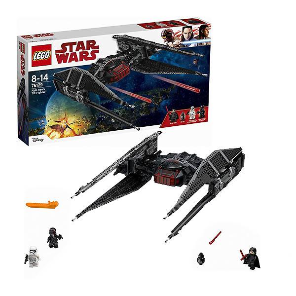 Купить Lego Star Wars 75179 Лего Звездные Войны Истребитель СИД Кайло Рена, Конструктор LEGO