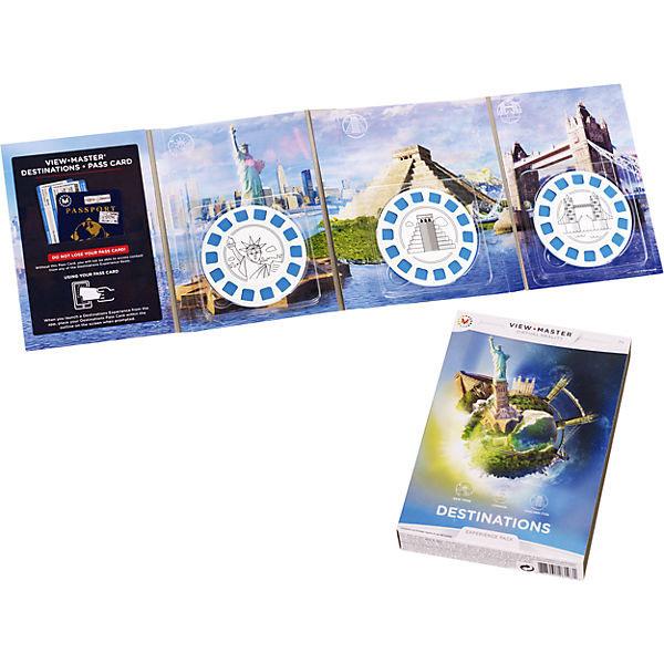 Mattel View Master DLL69 Набор визуализации Достопримечательности, арт:146930 - Обучающие игры, Интерактивные игрушки