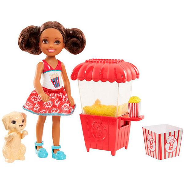 Купить Mattel Barbie FHP68 Барби Челси и щенок, Кукла Mattel Barbie