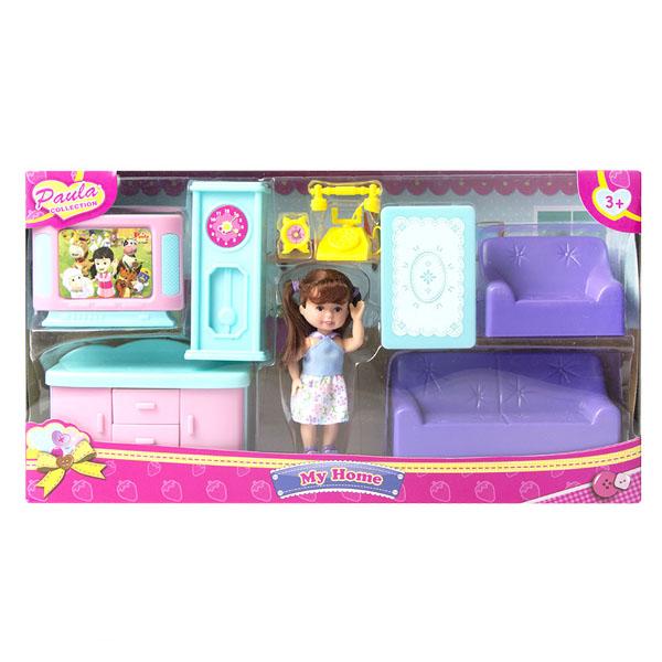 Купить Paula MC23110b Игровой набор Мой дом гостиная, Игровые наборы Paula