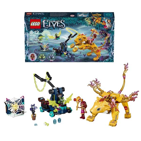 Купить Lego Elves 41192 Лего Эльфы Ловушка для Азари и огненного льва, Конструкторы LEGO