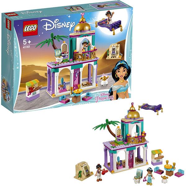 Купить LEGO Disney Princess 41161 Конструктор ЛЕГО Принцессы Дисней Приключения Аладдина и Жасмин во дворце, Конструктор LEGO