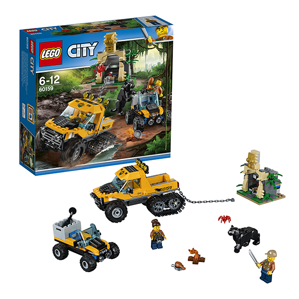 Lego City 60159 Конструктор Лего Город Миссия Исследование джунглей, арт:149775 - Город, Конструкторы LEGO