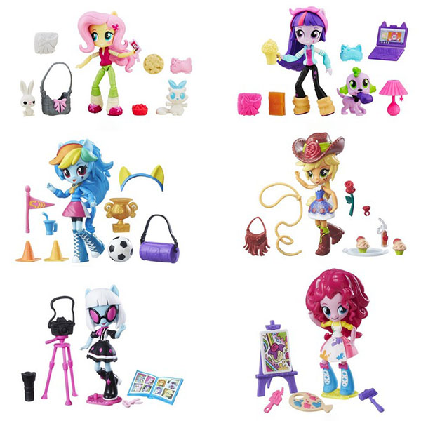 Купить Hasbro My Little Pony B4909 Equestria Girls Мини-кукла с аксессуарами (в ассортименте), Кукла Hasbro Equestria Girls