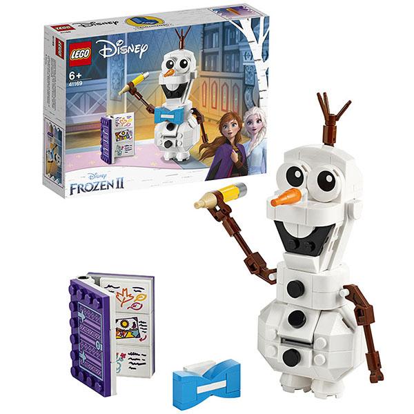 Купить LEGO Disney Princess 41169 Конструктор ЛЕГО Принцессы Дисней Олаф, Конструкторы LEGO