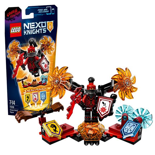 Купить Lego Nexo Knights 70338 Конструктор Лего Нексо Генерал Магмар- Абсолютная сила, Конструктор LEGO