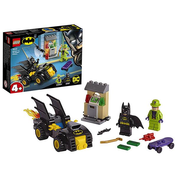 Купить LEGO Super Heroes 76137 Конструктор ЛЕГО Супер Герои Бэтмен и ограбление Загадочника, Конструктор LEGO
