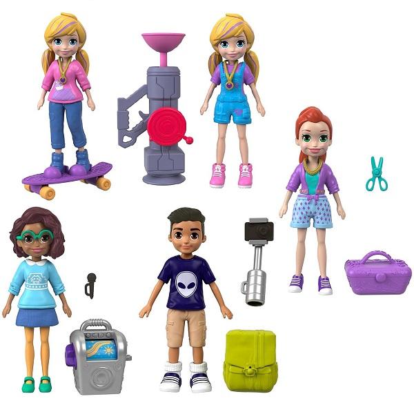 Купить Mattel Polly Pocket FTP67 Маленькие куклы (в ассортименте), Игровые наборы и фигурки для детей Mattel Polly Pocket