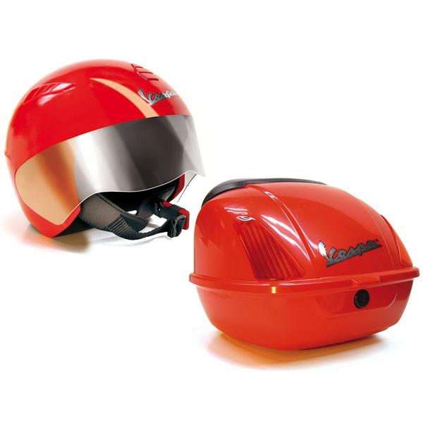 Купить Peg-Perego 0702 Пег-Перего Шлем и багажник Vespa, Шлем Peg-Perego