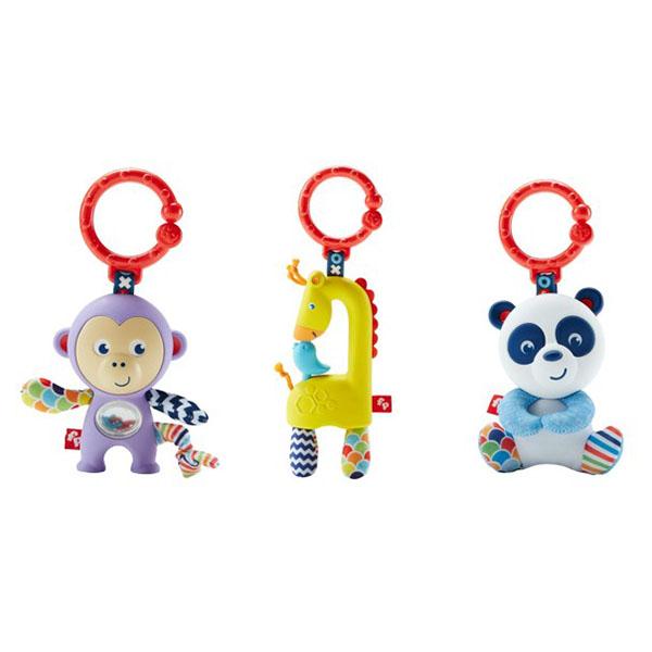 Mattel Fisher-Price DYF90 Фишер Прайс Погремушки-прорезыватели (в ассортименте) - Игрушки для малышей