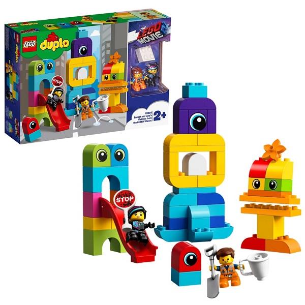 Конструкторы LEGO — LEGO DUPLO 10895 Конструктор ЛЕГО ДУПЛО The LEGO Movie 2: Пришельцы с планеты DUPLO