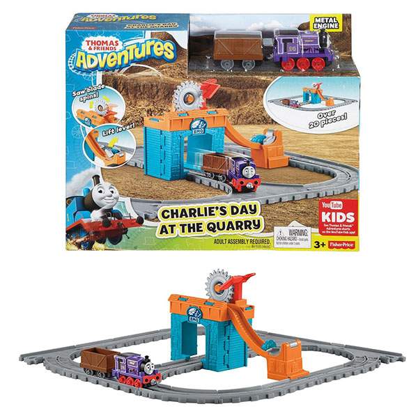 Игровой набор Mattel Thomas & Friends - Железные дороги и паровозики, артикул:147071