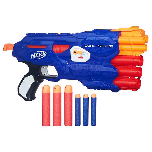 Игрушечное оружие Hasbro Nerf Nerf B4620 Нерф Бластер Элит Двойной выстрел (бластер)