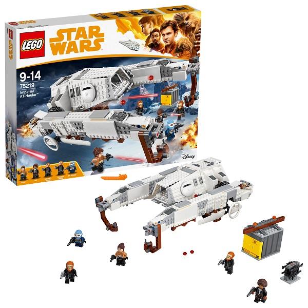 Купить LEGO Star Wars 75219 Конструктор ЛЕГО Звездные Войны Имперский шагоход-тягач, Конструкторы LEGO