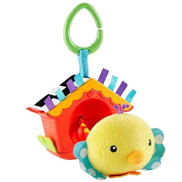 Купить Mattel Fisher-Price DFP95 Фишер Прайс Игрушка Птичка , Развивающие игрушки для малышей Mattel Fisher-Price