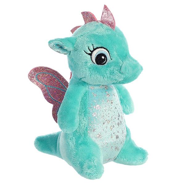 Купить Aurora 170776G Аврора Дракончик мятный, 16 см, Мягкие игрушки Aurora