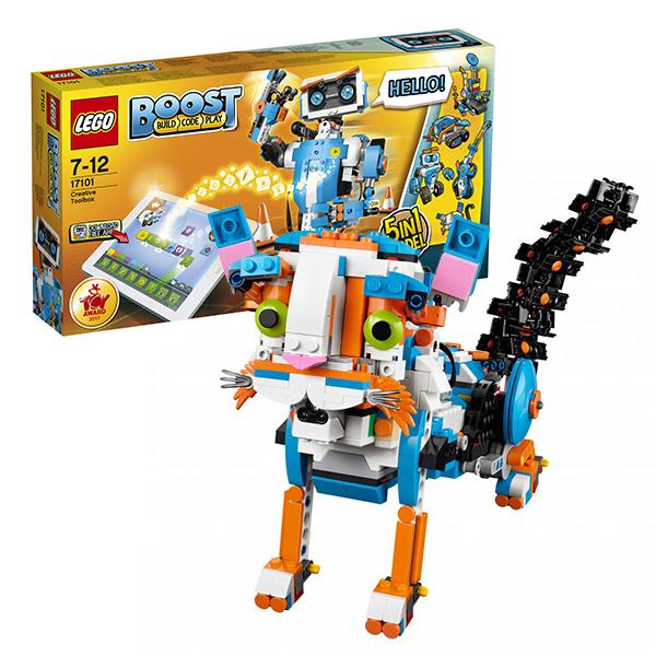 Конструкторы LEGO — LEGO BOOST 17101 Конструктор ЛЕГО Набор для конструирования и программирования