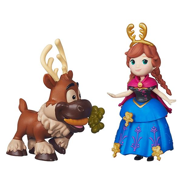 Купить Hasbro Disney Princess B5185 Маленькие куклы Холодное сердце с другом (в ассортименте), Набор фигурок Hasbro Disney Princess
