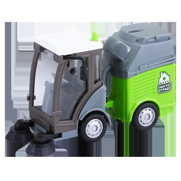Wincars U1401C-1 Вакуумно-уборочная машина, Игрушечные машинки и техника ТМ Wincars  - купить со скидкой