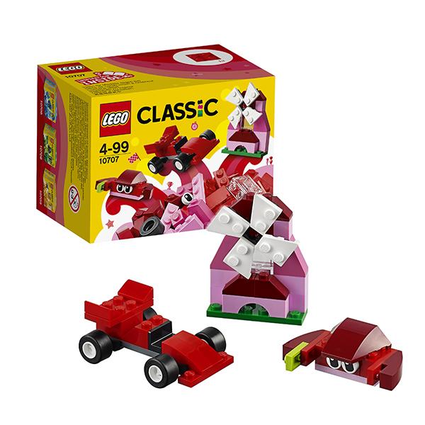 Купить Lego Classic 10707 Лего Классик Красный набор для творчества, Конструктор LEGO