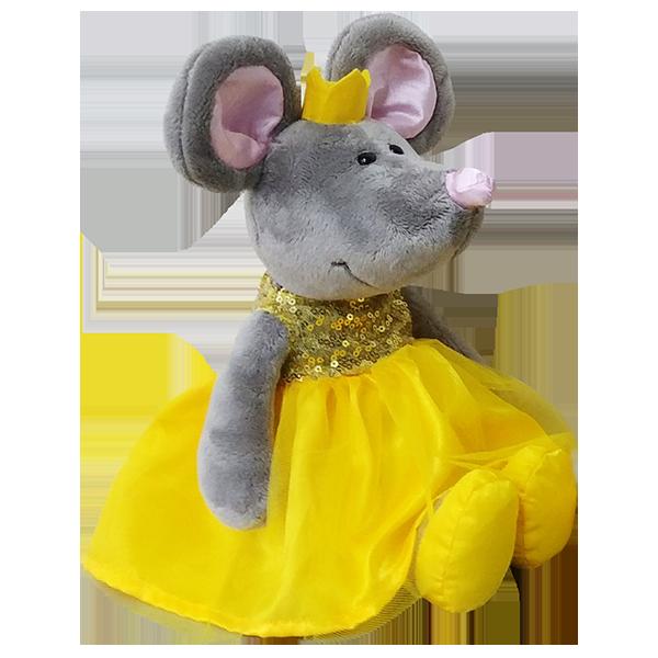 Мягкие игрушки SOFTOY — SOFTOY S880/15 Мягкая игрушка Мышка, 26см